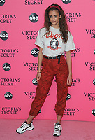 NEW YORK, NY - DECEMBER 02: Taylor Hill attends the Victoria's Secret Viewing Party at Spring Studios on December 2, 2018 in New York City. <br /> CAP/MPI/JP<br /> &copy;JP/MPI/Capital Pictures