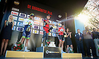 podium:<br /> 1/ Philippe Gilbert (BEL/BMC)<br /> 2/ Michael Matthews (AUS/Orica-GreenEDGE)<br /> 3/ Tony Gallopin (FRA/Lotto-Belisol)<br /> <br /> Brabantse Pijl 2014