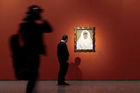 Autoritratto come Tehuana o Diego nei miei pensieri<br /> Roma 18-03-2014 Scuderie del Quirinale. Inaugurazione vernissage della mostra dedicata a Frida Kahlo.<br /> Opening of the exhibition of Frida Kahlo.<br /> Photo Samantha Zucchi Insidefoto