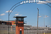 Exterior of the Ferguson Unit near Midway, Texas. The Ferfuson Unit is one of the prisons in the Texas Department of Corrections prison system.  Thomas McGowan spent 23 years there before being exonerated through DNA testing in 2009 with the help of Innocense Project.