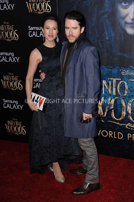 WWW.ACEPIXS.COM<br /> December 8, 2014 New York City<br /> <br /> America Olivo and Christian Campbell attending the World Premiere of 'Into the Woods' at the Ziegfeld Theatre on December 8, 2014 in New York City.<br /> <br /> Please byline: Kristin Callahan/AcePictures<br /> <br /> Tel: (212) 243 8787 or (646) 769 0430<br /> e-mail: info@acepixs.com<br /> web: http://www.acepixs.com