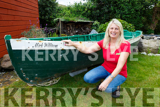 Marie Kehoe Beaufort who found her late father's old boat recently