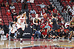 LOUISVILLE, KY - DECEMBER 1: Maryland Terrapins battle the Louisville Cardinals at KFC YUM! Center on December 1, 2016 in Louisville, Kentucky. (Photo by Joe Robbins)
