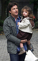 Jason Bateman and daughter Francesca<br /> 2009<br /> Photo By John Barrett/CelebrityArchaeology.com