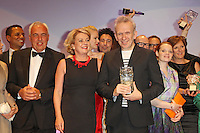"""Hans Reiner Schroeder and Award Winner Jean Paul Gaultier attending the """"Duftstars 2012 - German Perfume Award"""" held at the Tempodrom in Berlin, Germany, 04.05.2012...Credit: Semmer/face to face /MediaPunch Inc. ***FOR USA ONLY***"""