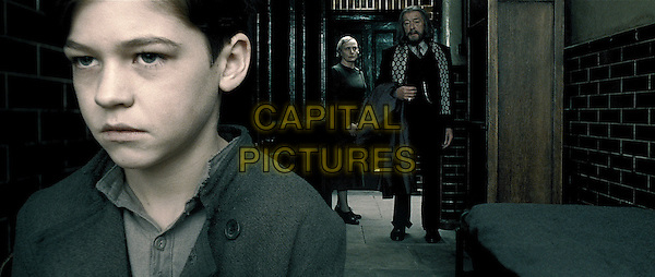 HERO FIENNES TIFFIN, AMELDA BROWN & MICHAEL GAMBON.in Harry Potter and the Half-Blood Prince.*Filmstill - Editorial Use Only*.CAP/FB.Supplied by Capital Pictures.