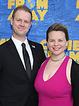 David Hein and Irene Sankoff attends the Broadway Opening Night performance for 'Come From Away' at the Gerald Schoenfeld Theatre on March 12, 2017 in New York City.