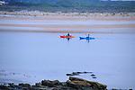 Sea Kayaking at Mantanzas Inlet in Saint Augustine, Florida