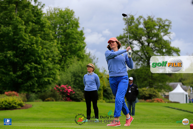 during the preview to the Dubai Duty Free Irish Open, The K Club, Straffan, Co. Kildare<br /> Picture: Golffile   Eoin Clarke<br /> <br /> <br /> All photo usage must carry mandatory copyright credit (&copy; Golffile   Eoin Clarke)