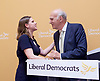 Liberal Democrat Leadership press conference. <br /> <br /> Jo Swinson - deputy leader <br /> Vince Cable - new leader <br /> <br /> 20th July 2017 <br /> at The St Ermin&rsquo;s Hotel, London. Great Britain <br /> &nbsp;<br /> <br /> <br /> Photograph by Elliott Franks <br /> Image licensed to Elliott Franks Photography Services