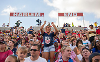 Bridgeview, IL - August 2, 2018: The USWNT defeated Brazil 4-1 during the Tournament of Nations at Toyota Park.  With the result the US won the tournament.