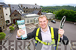 Neil Buckley, Sales and Marketing Manager at The Heights Hotel, Killarney launching the new 'Height' promotion at the hotel.