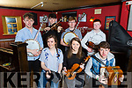Pictured at the lunch of the 2017 Fleadh By The Feale in Murphy's Bar, last Friday night was front l-r: Maura O'Connor, Eileen Broderick, Eamon Sheehy. B l-r: Ian Sheehy, Conor Daly, Micheál and Liam Broderick.