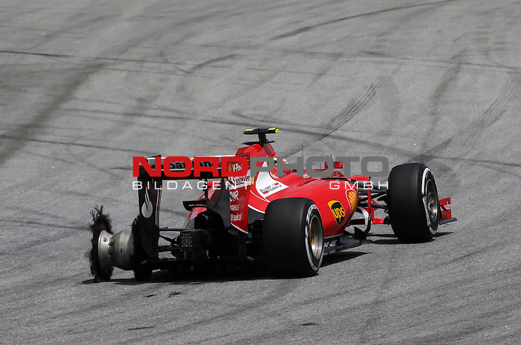 29.03.2011, Sepang-International-Circuit, Malaysia, MAL , Gro&szlig;er Preis von Malaysia / Kuala Lumpur,   im Bild Kimi Raikkonen (FIN), Scuderia Ferrari<br /> for the complete Middle East, Austria &amp; Germany Media usage only!<br />  Foto &copy; nph / Mathis