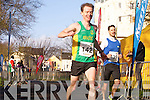 Trevor Dunne and Ross Higgins at the Valentines 10 mile road race in Tralee on Saturday.