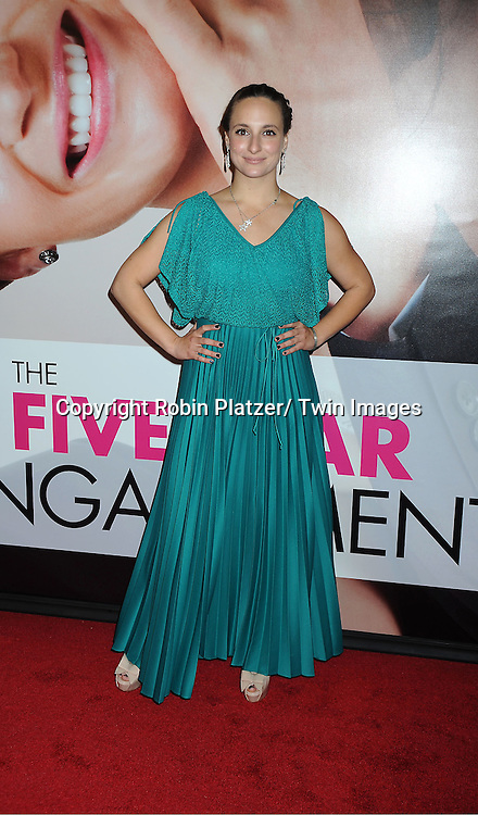 """actress Tracee Chimo arrives to The World Premiere of """" The Five-Year Engagement"""" at the opening night of The Tribeca Film Festival at the Ziegfeld Theatre in New York City on ..April 18, 2012."""
