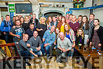 Alan 'Scully' O'Sullivan seated front centre from Knightstown, Valentia celebrated his 50th birthday with family and friends in Boston's Bar Knightstown on Sunday night.