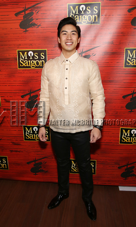 """Devin Haw attends The Opening Night After Party for the New Broadway Production of """"Miss Saigon"""" at Tavern on the Green on March 23, 2017 in New York City"""