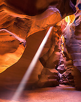 Arizona's Upper Antelope Canyon boasts colorful sandstone and beautiful rays of light.
