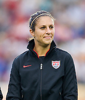 Carli Lloyd. The USWNT defeated Japan, 2-0,  at WakeMed Soccer Park in Cary, NC.