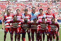 FC Dallas Starting Eleven. Chicago Fire vs FC Dallas at Pizza Hut Park Frisco, Texas June-15-2008.  FC Dallas 1, Chicago 0.