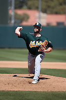 Ben Bracewell - Oakland Athletics 2016 spring training (Bill Mitchell)