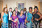 Enjoying their Debs Ball are students from MountHawk secondary school,Tralee last Friday night at the AbbeyGate hotel,L-R Vivane Stokoe,Josh Lowhan,Natasha O'Callighan,Tony Cunningham,Alison Howard,Seun&Ebun Osinubi and Mistura Bama.