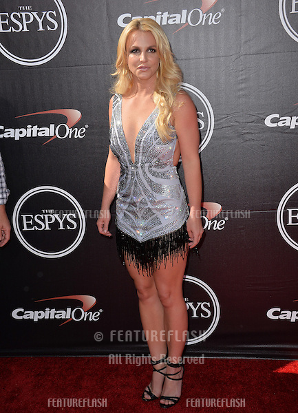 Britney Spears at the 2015 ESPY Awards at the Microsoft Theatre LA Live.<br /> July 15, 2015  Los Angeles, CA<br /> Picture: Paul Smith / Featureflash