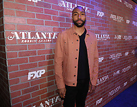 "LOS ANGELES - FEBRUARY 19: Jeremie Harris arrives at the red carpet event for FX's ""Atlanta Robbin' Season"" at the Ace Theatre on February 19, 2018 in Los Angeles, California.(Photo by Frank Micelotta/FX/PictureGroup)"