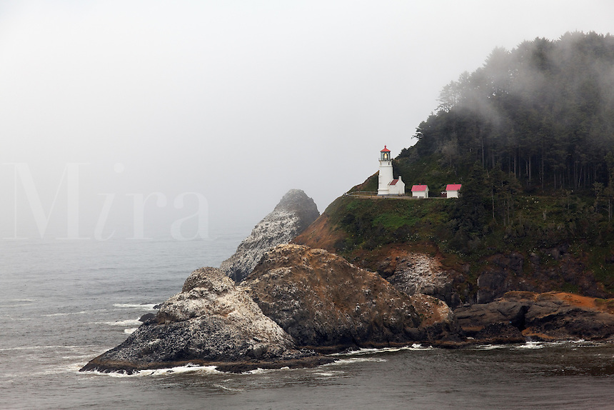 Heceta Head Lighthouse, Oregon, USA, North America
