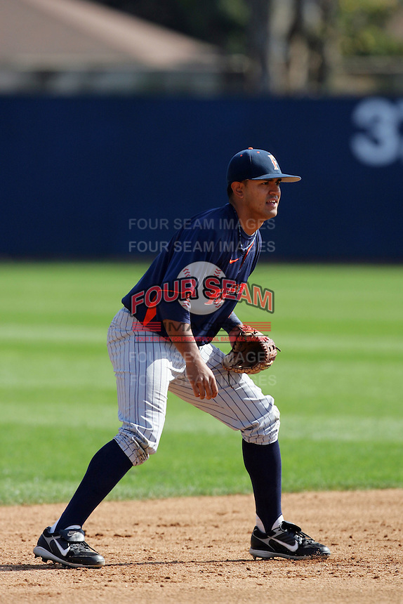 March 23, 2010: Christian Colon of Cal. St. Fullerton during game  against Loyola Marymount at LMU in Los Angeles,CA.  Photo by Larry Goren/Four Seam Images