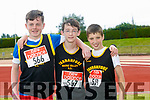 At the Kerry County Athletic Championship in An Riocht Castleisland were Farranfore Jimmy Fenton, Malachy Kerwin, Cormac Costello