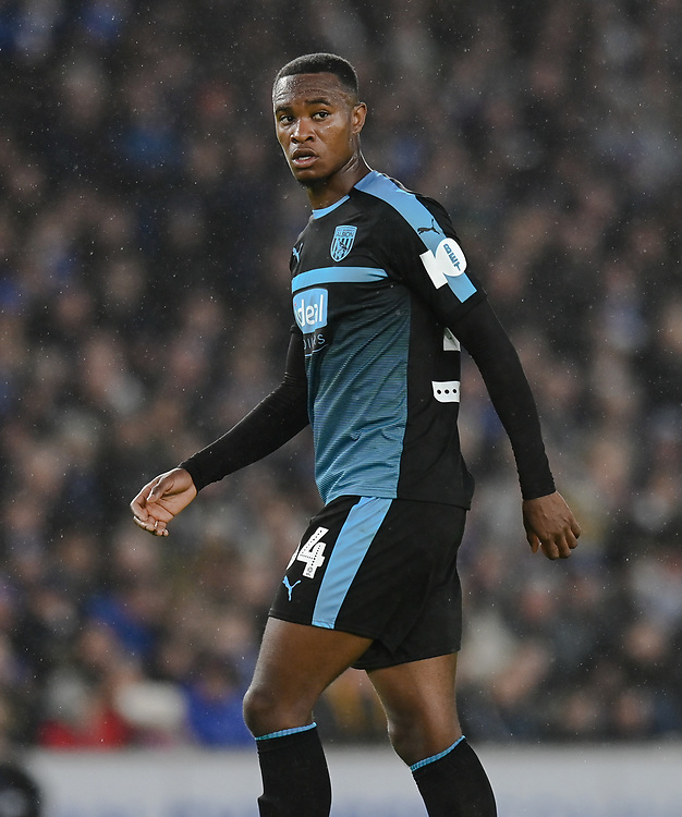 West Bromwich Albion's Rekeem Harper<br /> <br /> Photographer David Horton/CameraSport<br /> <br /> Emirates FA Cup Fourth Round - Brighton and Hove Albion v West Bromwich Albion - Saturday 26th January 2019 - The Amex Stadium - Brighton<br />  <br /> World Copyright © 2019 CameraSport. All rights reserved. 43 Linden Ave. Countesthorpe. Leicester. England. LE8 5PG - Tel: +44 (0) 116 277 4147 - admin@camerasport.com - www.camerasport.com