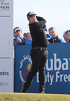 Saturday 30th May 2015; Scott Hend, Australia, on the 8th tee<br /> <br /> Dubai Duty Free Irish Open Golf Championship 2015, Round 3 County Down Golf Club, Co. Down. Picture credit: John Dickson / SPORTSFILE