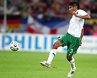 Carlos Sanchez (3) of Mexico. Portugal defeated Mexico 2-1 in their FIFA World Cup Group D match at FIFA World Cup Stadium, Gelsenkirchen, Germany, June 21, 2006.