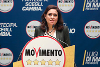 Francesca Tizi<br /> Roma 29/01/2018. Presentazione dei candidati nelle liste uninominali del Movimento 5 Stelle.<br /> Rome January 29th 2018. Presentation of the candidates for Movement 5 Stars.<br /> Foto Samantha Zucchi Insidefoto