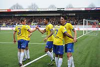 VOETBAL: LEEUWARDEN: 08-11-2015, SC Cambuur - FC Groningen, uitslag 2-2, buitenspel doelpunt SC Cambuur, ©foto Martin de Jong