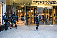 NEW YORK, NY, 19.03.2017 - TRUMP-TOWER - Vista da fachada da Trump Tower  na Quinta Avenida em Manhattan na cidade de New York neste domingo, 19. (Foto: Vanessa Carvalho/Brazil Photo Press)