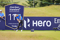Joakim Lagergren (SWE) on the 11th during Round 2 of the Aberdeen Standard Investments Scottish Open 2019 at The Renaissance Club, North Berwick, Scotland on Friday 12th July 2019.<br /> Picture:  Thos Caffrey / Golffile<br /> <br /> All photos usage must carry mandatory copyright credit (© Golffile | Thos Caffrey)