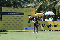 Phachara Khongwatmai (THA) in action on the 7th during Round 3 of the Maybank Championship at the Saujana Golf and Country Club in Kuala Lumpur on Saturday 3rd February 2018.<br /> Picture:  Thos Caffrey / www.golffile.ie<br /> <br /> All photo usage must carry mandatory copyright credit (© Golffile | Thos Caffrey)