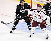 Mark Adams (PC - 4), Barry Almeida (BC - 9) - The Boston College Eagles defeated the visiting Providence College Friars 4-1 (EN) on Tuesday, December 6, 2011, at Kelley Rink in Conte Forum in Chestnut Hill, Massachusetts.
