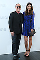 (L-R) Michael Kors, Izumi Mori, <br /> Nov 20, 2015 : <br /> Model Izumi Mori and Designer Michael Kors<br /> attends the Michael Kors store event in Tokyo, Japan on November 20, 2015.<br /> American luxury brand opened its largest flagship store in Tokyo's renowned Ginza district. (Photo by Yohei Osada/AFLO)