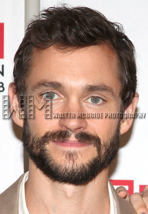 Hugh Dancy.attending the Meet & Greet for the Manhattan Theatre Club's Production of 'Venus In Fur' at their Rehearsal Studios in New York ity.