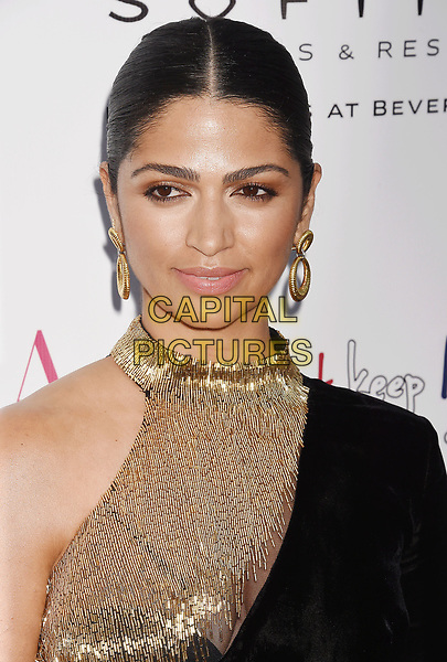 LOS ANGELES, CA - JUNE 23:  Model-designer Camila Alves McConaughey attends the BELLA Los Angeles Summer Issue Cover Launch Party at Sofitel Los Angeles At Beverly Hills on June 23, 2017 in Los Angeles, California.<br /> CAP/ROT/TM<br /> &copy;TM/ROT/Capital Pictures
