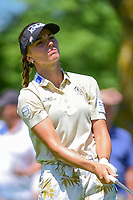 Klara Spilkova (CZE) watches her tee shot on 2 during Saturday's round 3 of the 2017 KPMG Women's PGA Championship, at Olympia Fields Country Club, Olympia Fields, Illinois. 7/1/2017.<br /> Picture: Golffile | Ken Murray<br /> <br /> <br /> All photo usage must carry mandatory copyright credit (&copy; Golffile | Ken Murray)