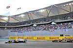 Kevin Magnussen (SWE), McLren F1 Team - Pastor Maldonado (VEN),  Lotus Renault F1 Team<br />  Foto &copy; nph / Mathis