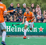 BLOEMENDAAL - Manu Stockbroekx (Bldaal)    tijdens de hoofdklasse competitiewedstrijd hockey heren,  Bloemendaal-Den Bosch (2-1) COPYRIGHT KOEN SUYK