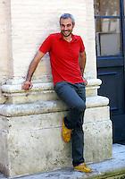 Lo scrittore Marco Malvaldi ritratto in occasione del Festival delle Letterature a Roma, 18 giugno 2012..Italian writer Marco Malvaldi portrayed during the Literary Festival in Rome, 18 june 2012..UPDATE IMAGES PRESS/Isabella Bonotto