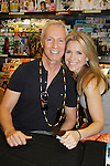 """Days Of Our Lives - Greg Meng (co-executive producer and author of this book) and Melissa Reeves meet the fans as they sign """"Days Of Our Lives Better Living"""" on September 27, 2013 at Books-A-Million in Nashville, Tennessee. (Photo by Sue Coflin/Max Photos)"""