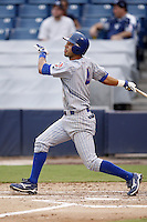 July 10, 2009:  Marwin Gonzalez of the Daytona Cubs during a game at George M. Steinbrenner Field in Tampa, FL.  Daytona is the Florida State League High-A affiliate of the Chicago Cubs.  Photo By Mike Janes/Four Seam Images